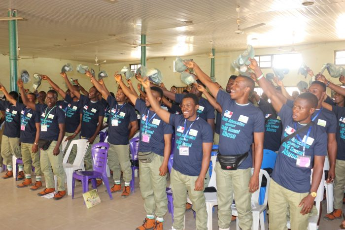 SOAR INITIATIVE RECOGNIZES 89 HARDWORKING NYSC ADVOCATE IN ABUJA