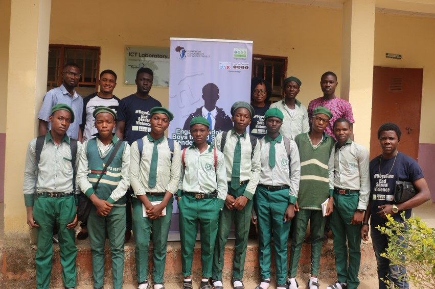 Adolescent BOYS taking a STAND to End Sexual and Gender-Based Violence!!!